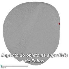 A característica dominante na superfície de Fobos (que tem 22 quilômetros de diâmetro) é a cratera Stickney com nove quilômetros de diâmetro.  Fobos, a lua marciana chama a atenção por ter um grande mistério: durante décadas cientistas não conseguiram explicar como uma cratera tão grande se formou no corpo rochoso sem destruí-lo por completo.