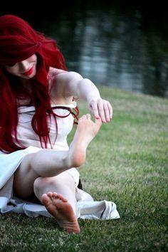 Ariel's new legs by ~mayumi-loves-sora on deviantART