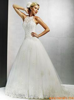 V profundo Renda tule estilistas vestidos de noiva