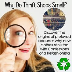 Let's find out just what causes that recognizable secondhand smell + the harmful chemicals lurking in those brand new garments too! Second Hand Shop Online, Get Over It, New Outfits, Confessions, Thrifting, Frugal
