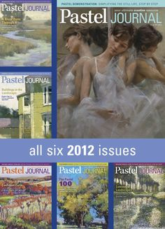 Pastel Journal 2012 Digital Issue Archive on sale for $16 (through 1/31/13) at NorthLightShop.com. #DigitalSale