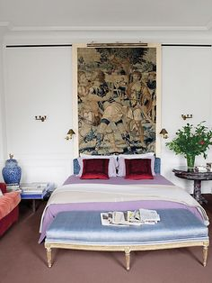 Bedroom Ideas. Design by Robert Couturier