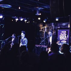 Panic! At The Disco playing at the @redbull #soundspace @KROQ! Add us on #snapchat for more: hottopichq (at Red Bull Sound Space At KROQ)