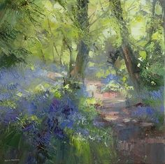 Risultato immagini per rex preston artist Forest Painting, Oil Painting Abstract, Watercolor Art, Abstract Art, Landscape Art, Landscape Paintings, Impressionist Paintings, Pastel Art, Art Oil