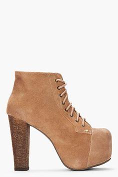 #ssense.com               #women boots              #Jeffrey #Campbell #Suede #Lita #Boots #women #SSENSE                         Jeffrey Campbell Tan Suede Lita Boots for women | SSENSE                                                http://www.seapai.com/product.aspx?PID=666749