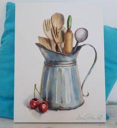 Still life watercolour by Nina Orlova