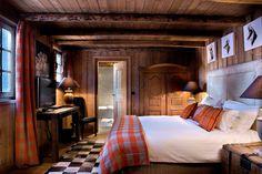des proprits uniques louer megeve avec le sevice 5 toiles dun hotel - Chambre Style Montagne