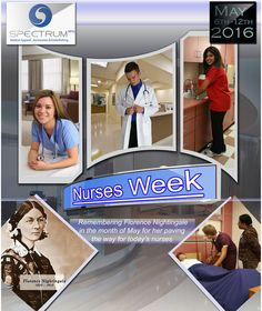 We have Spectrum uniforms and accessories for doctors and nurses. Don't forget Nurses Week.