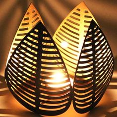 Four Pipal Leaf T-light Holder Rs 699/- http://www.tajonline.com/gifts-to-india/gifts-HVI12.html?aff=pint2014/