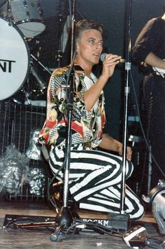 David Bowie stripes pants