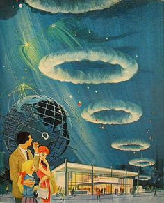 """1964 ... NY World's Fair- cigar pavilion by x-ray delta one; Oh yeah! remember the buttons that they gave out... """"Meet me under the the smoke rings"""". Nobody could figure out what the  trick was (the -the 2x)"""