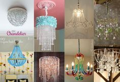 homemade chandeliers