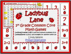 Teaching Blog Round Up: Lovable Ladybugs - Math Games!