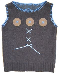 HAND MADE ORIGINAL Design Sweater Vest (Age: 3T)- For SALE $23.00 - For payment details send email at artwork@ZubArt.net