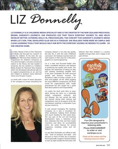 Liz Donnelly in Who's Who Magazine