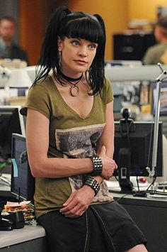 Pauley Perrette (Abby)... NCIS, love her character, tv series, style, portrait, photo