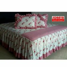 Sprei Bed Cover Design, Rose Duvet Cover, Beautiful Bedding Sets, House Front Porch, Baby Boy Dress, Bedspread, Bed Covers, My Room, Luxury Bedding