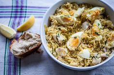 Having fun in the kitchen with the kids couldn't be easier with this recipe for kedgeree with boiled eggs. Find this and hundreds more recipes at Tesco Real Food today!
