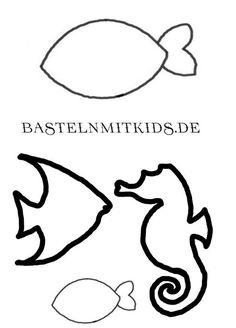 Fische Malvorlage