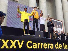 #CarreraCSIC El corredor Javi Martínez ha conseguido un merecido segundo puesto en la #carreradelaciencia CSIC disputada ayer domingo 18 de Octubre. Nos sentimos orgullosos de apoyar a grandes deportistas como él. Enhorabuena amigo! A por muchas más!