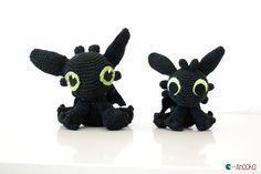 Amigurumi Toothless - FREE Crochet Pattern / Tutorial