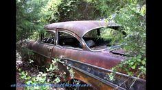 abandoned carsd   Old Abandoned Classic Cars - YouTube