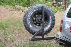 Looks like I will be getting a spare tire carrier made within the next month here. I have a tube rear bumper, looks like a trail gear bumper, and I plan on. Jeep Xj Mods, Jeep Wj, Jeep Willys, Jeep Tire Carrier, Iveco 4x4, Jeep Bumpers, Truck Bed Camper, Off Road Camping, Tire Rack