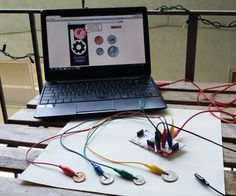 Learn to count coins with a makey makey + scratch program.