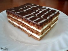 "Slovakian ""Medove Platy"" or ""Honey Cake"" Cookbook Recipes, Wine Recipes, Mexican Food Recipes, Baking Recipes, Eastern European Recipes, European Cuisine, European Breakfast, West African Food, Czech Recipes"