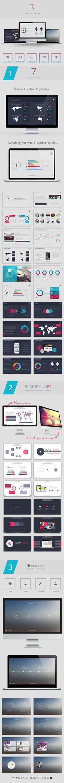 Digital art creative powerpoint template creative powerpoint 3 powerpoint bundle toneelgroepblik Images