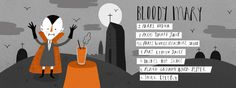 They Draw & Cook, illustrated recipes - Pau Morgans Bloody Mary. Make it seasonal and scary