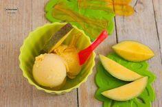 Cómo hacer helado de mango con y sin heladera. ¡Está buenísimo!