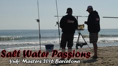 Surfcasting Competition Yuki Masters 2016 Barcelona. Deze 2 vis wedstrijden zijn gevist aan de stranden van Castelldefels Spanje.  Surfcasting Competition Yuki Masters 2016 Barcelona. 2 day Fishing Competition on the beach of Castelldefels Spain.  Surfcasting Competición Yuki Masters 2016 en Barcelona. Competencia pesca 2 día en la playa de Castelldefels España.