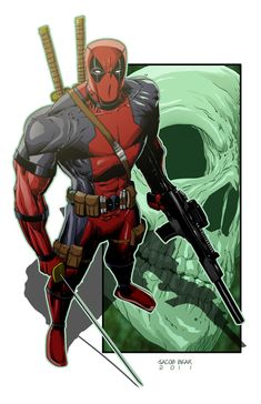#Deadpool #Fan #Art. (DeadPool3) By: BearClawStudios.