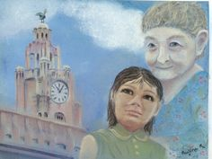 #art #pastel #painting #liverpool #seaodyssey #drawing