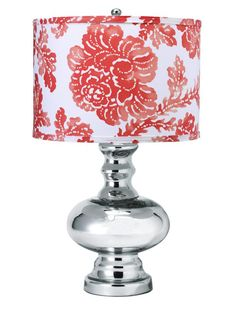 We absolutely love this metallic base mixed with a more feminine lamp shade #hgtvmagazine http://www.hgtv.com/decorating-basics/learn-from-vern-all-about-table-lamps/pictures/index.html?soc=pinterest