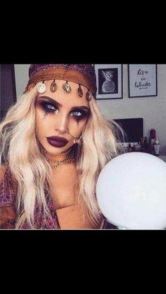 Zigeunerin Make-up Halloween