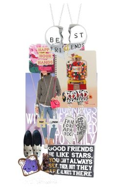 """""""friends..."""" by leotajane ❤ liked on Polyvore featuring art and friends"""