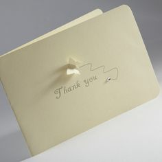 Simple Thank You Card