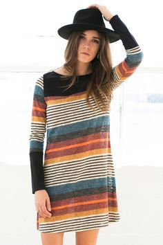 So I think I like stripes that are kind of mixed up (as opposed to repetitive stripes). I kind of love this!