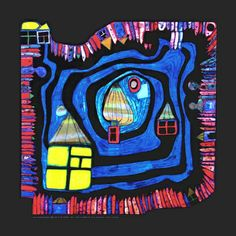 Google Image Result for http://cache2.allpostersimages.com/p/LRG/41/4135/T9AMF00Z/posters/hundertwasser-friedensreich-end-of-the-waters-c-1979.jpg