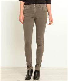 GDM - Jean femme taille haute couleurs