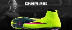 Explosive Speed Nike Soccer Shoes 2015 Look Shop Now http://www.aztecasoccer.com