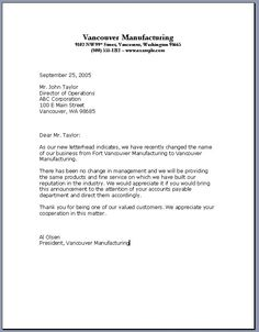 Formal Permission Letter - following is an example of letter ...
