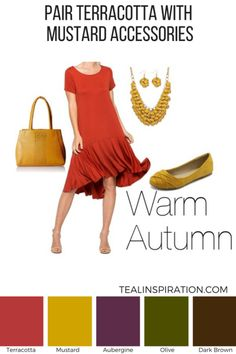 How to Wear Red if You're an Autumn – Teal Inspiration Soft Autumn Deep, Dark Autumn, Fashion Colours, Colorful Fashion, Deep Autumn Color Palette, Autumn Colours, Warm Fall Outfits, Color Terracota, Seasonal Color Analysis