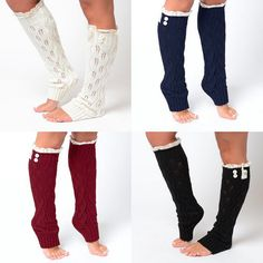 Boot socks with lace & button detail... $10 or less!
