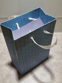 Handmade by Kati: Paperinen lahjakassi