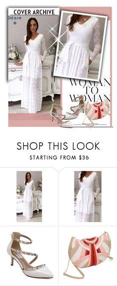 """""""Desir Vale  9"""" by k-lole ❤ liked on Polyvore featuring Summer, white, Elegance and womenfashion"""