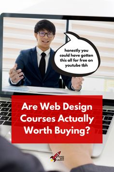 Should you buy a web design course if you're trying to learn web design? Here's why I think online courses are a waste of time and money. Learn Web Design, Online Web Design, Small Business Entrepreneurship, Tupac Wallpaper, Tupac Pictures, Build Your Own Website, Creating Passive Income, Blog Images, Work From Home Moms