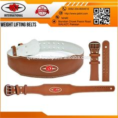 LEATHER Weightlifting Belts / Fitness Belt / Gym Belt
